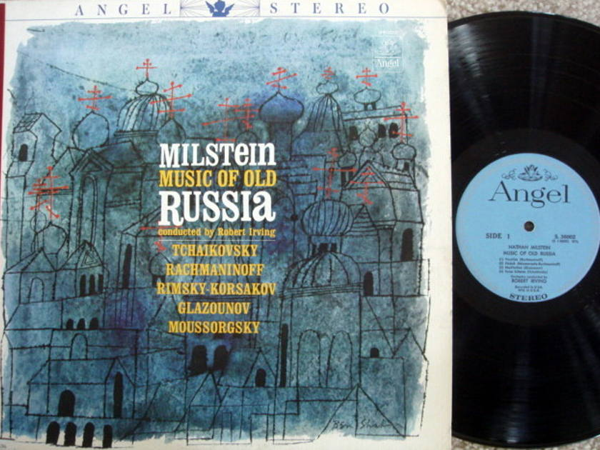 EMI Angel Blue / MILSTEIN, - Music of Old Russia, EX!