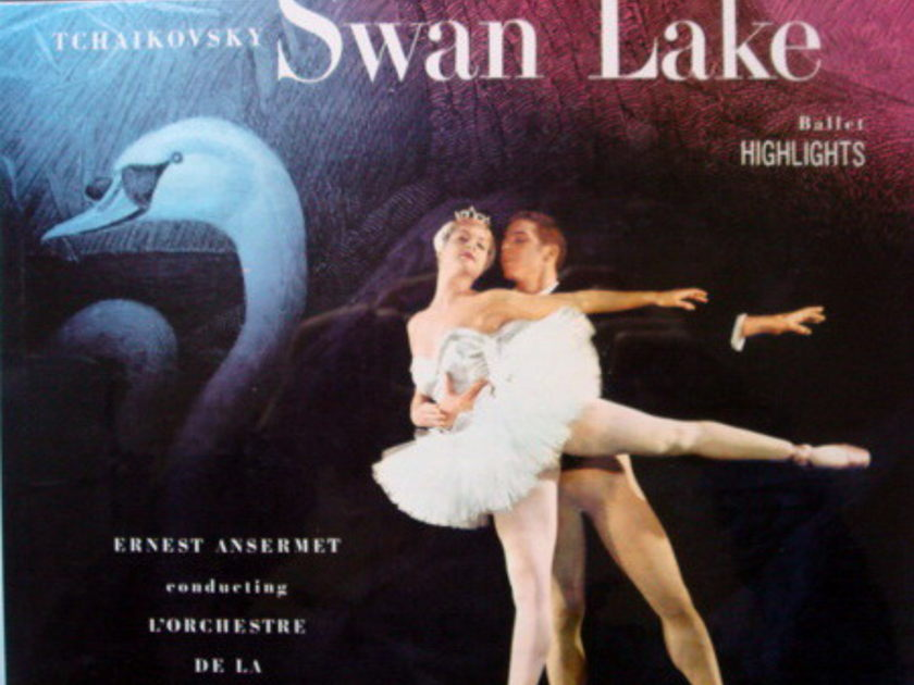 ★Sealed★ UK DECCA-LONDON / ANSERMET - Tchaikovsky Swan Lake, Original WB, BB!