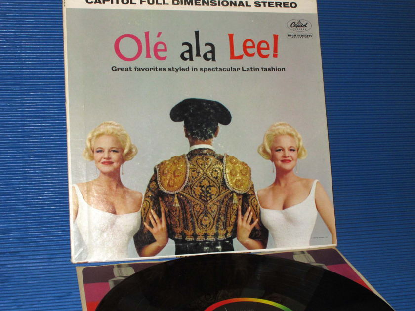 "PEGGY LEE -  - ""Ole' ala Lee!"" -  Capitol 1961 1st Pressing"