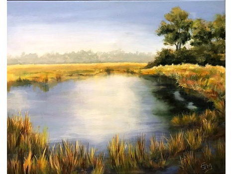 "Libby McMeekin ""Louisiana Pond"""