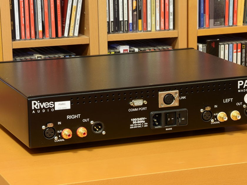 Rives Audio PARC + test KIT - as new, 100/120/240V