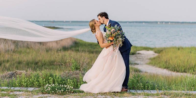 Spring Waterfront Wedding