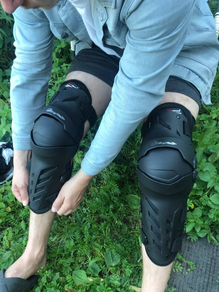 protege genoux trottinette anti chute