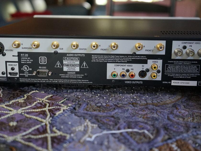 Lexicon RT-20 SACD/DVD/CD player