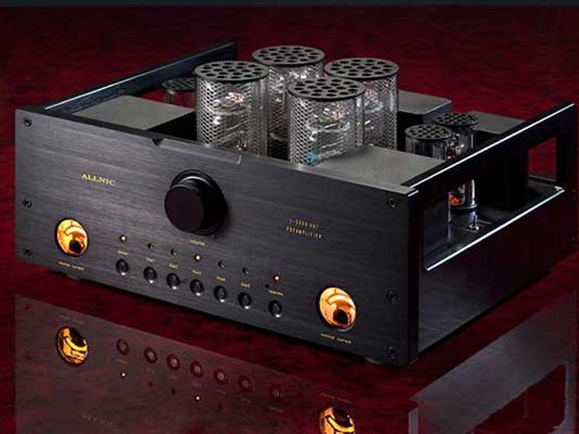 Allnic  L5000 DHT Black DEMO with upgraded KR Audio KE3A tubes