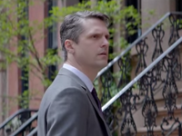 A 40-ish Gen-Xer ponders his future in a recently released TV spot from Schwab.