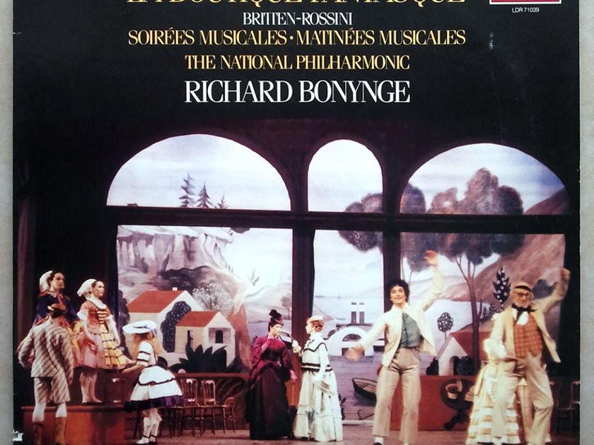 London Digital/Bonynge/Rossini-Respighi - La Boutique Fantasque / NM
