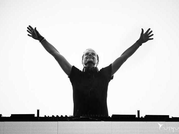 Armin Van Buuren Ibiza, performing at Ushuaia Beach Hotel