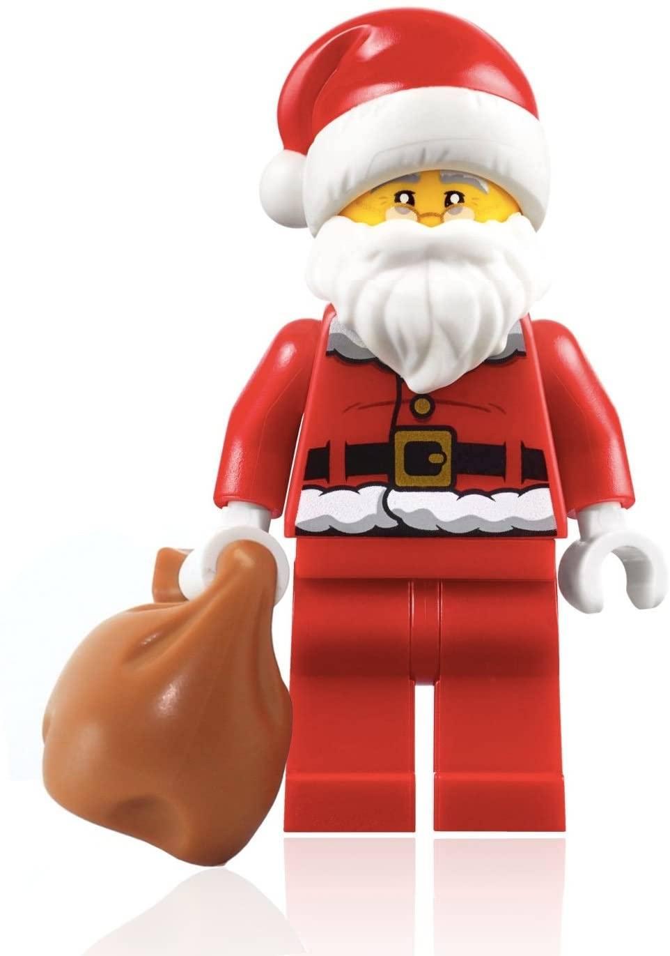 Buildable Lego Santa Figurine