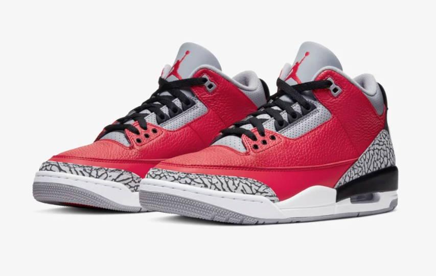 Nike Air Jordan 3 Red Cement