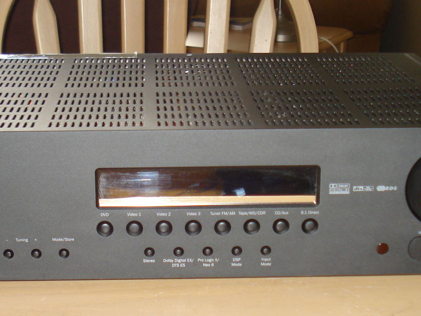Cambridge Audio  Azur 540R v.2  Receiver Component  & Optical Cables