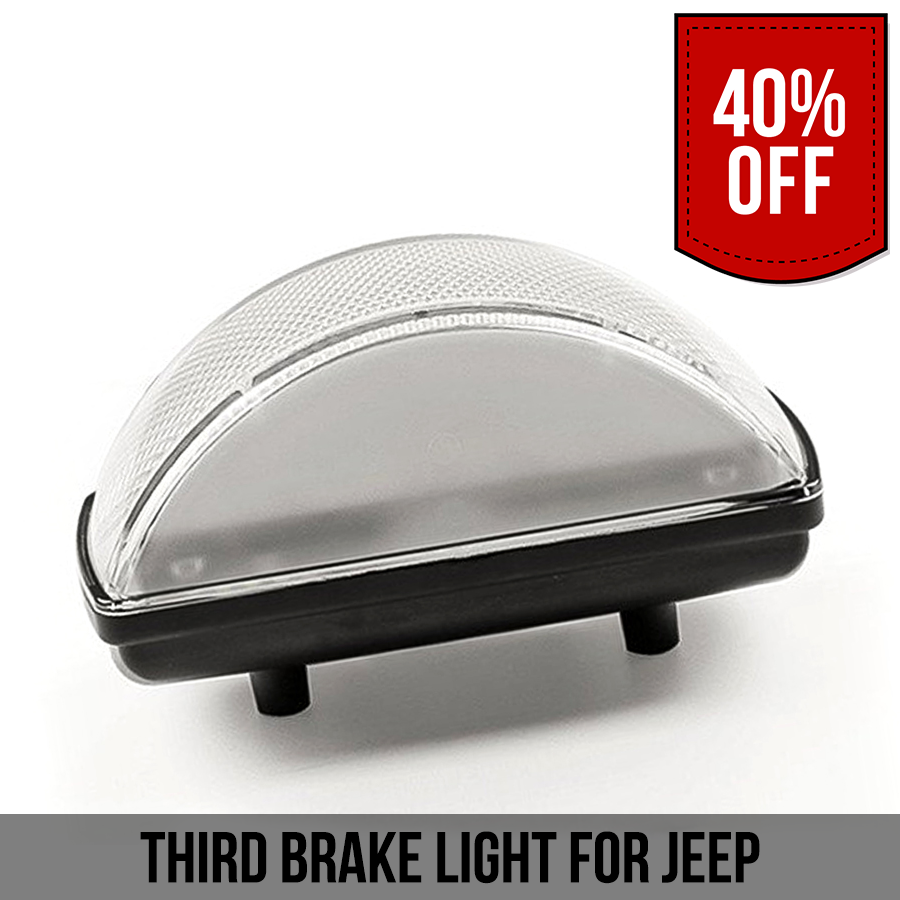 Third Brake Light For Jeep