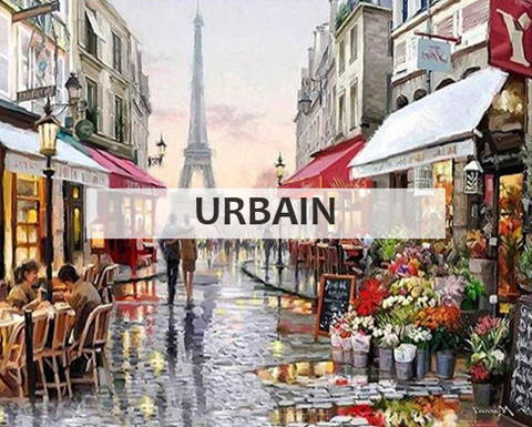 Broderie diamant collection urbain