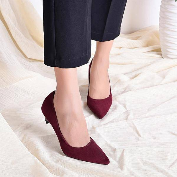7be580ef34d THE SUEDE LOOK. ‹ › Convertible High Heel Shoes ...