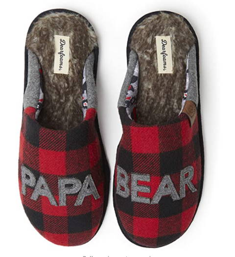 Having a baby is a tiresome business. Sometimes, Dad has to move around a lot and doesn't have much time to stand still for a while. It's time to take good care of his tired feet. Cute, cozy, and comfortable! These Papa Bear Slippers will totally make his day and put a smile on his face every day.