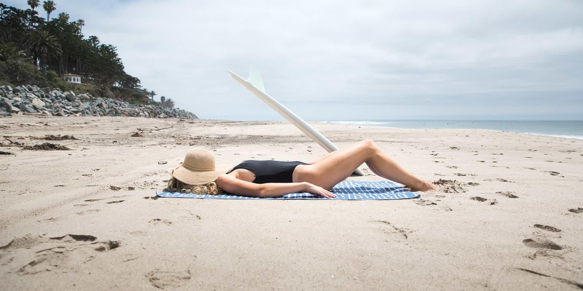Best sand free beach towel