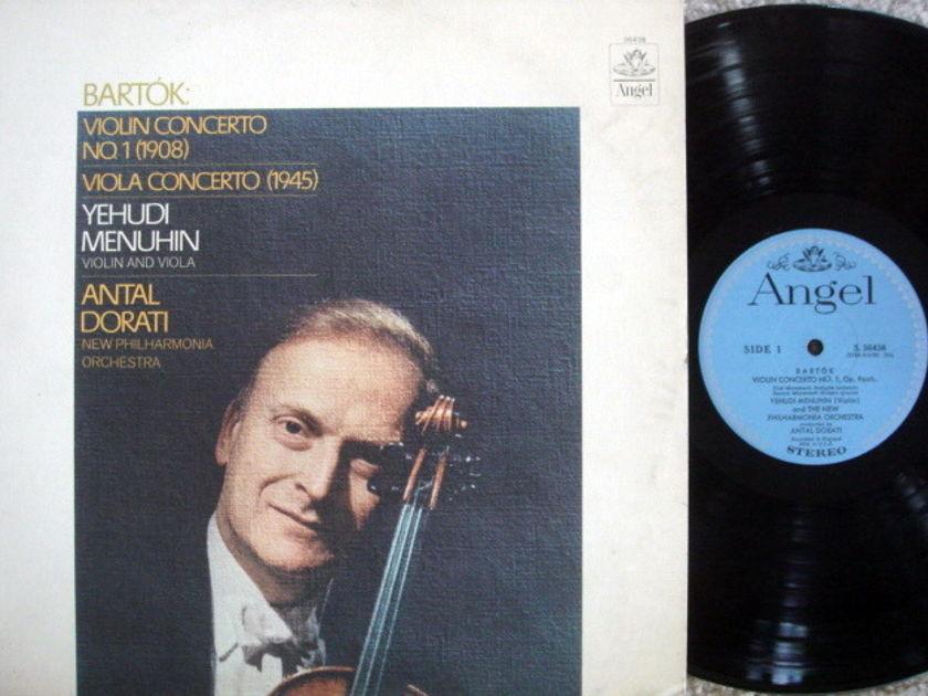 EMI Angel Blue / MENUHIN, - Bartok Violin Conerto No.1,  MINT!