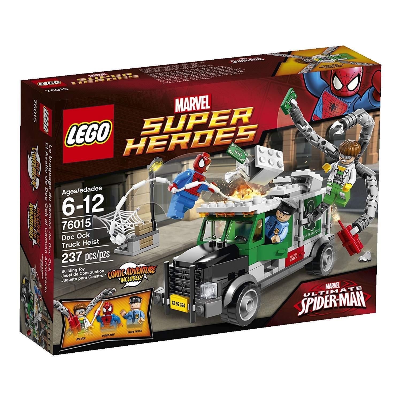 lego doc ock truck heist