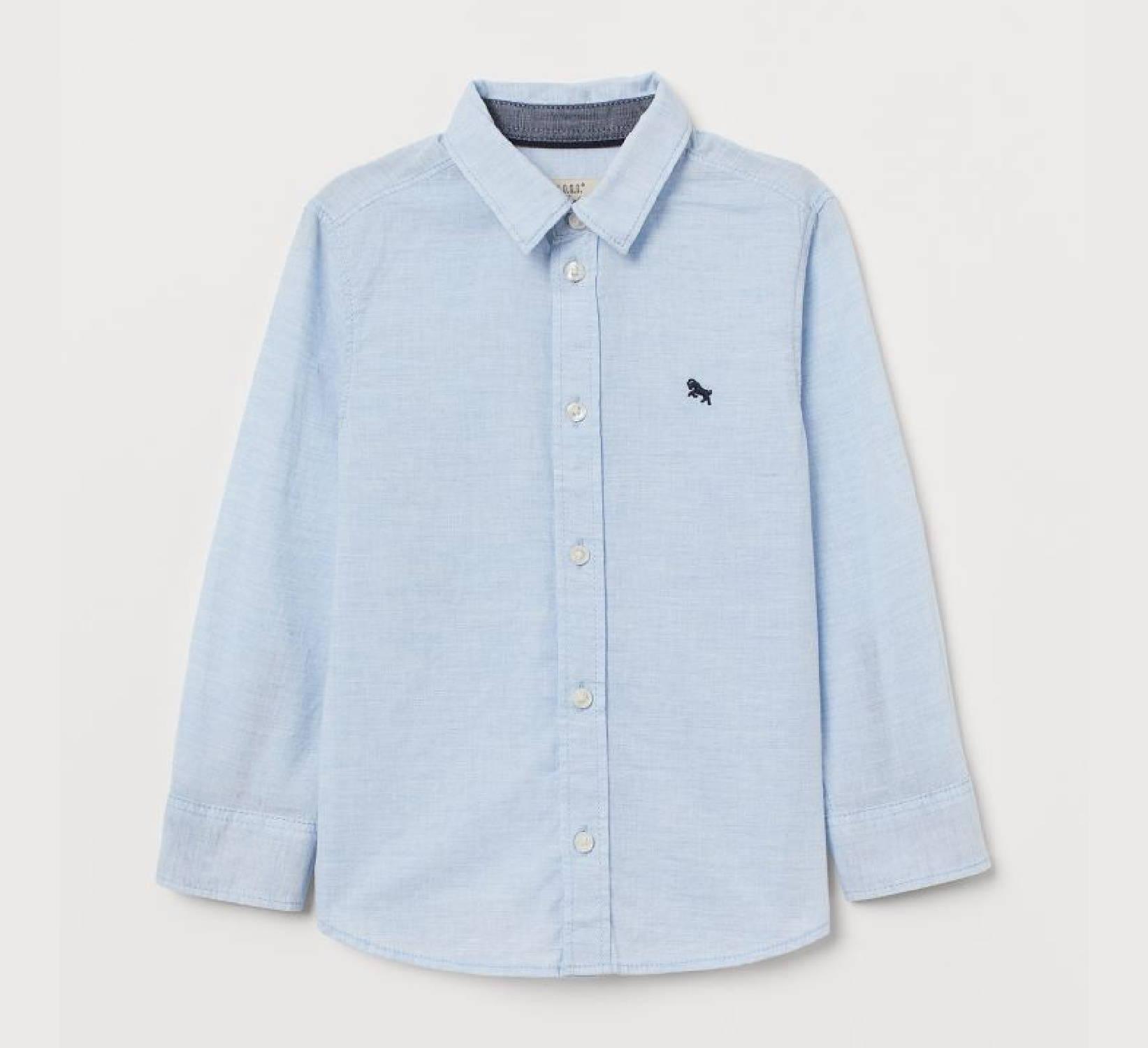 Ring Bearer Blue Shirt