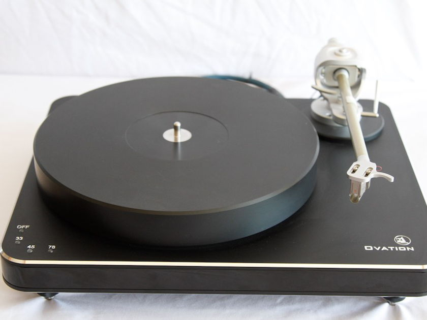 "Clearaudio Ovation With Magnify Arm.  An Absolute Sound ""Turntable of the Year"""