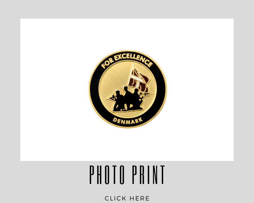 Corporate Photo Print Challenge Coins