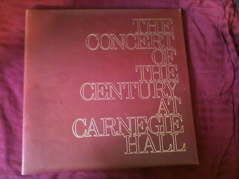 The Concert of the Century Carnegie Hall - 85th anniversary limited numbered edition MEGA RARE 1000 copies OOP booklet