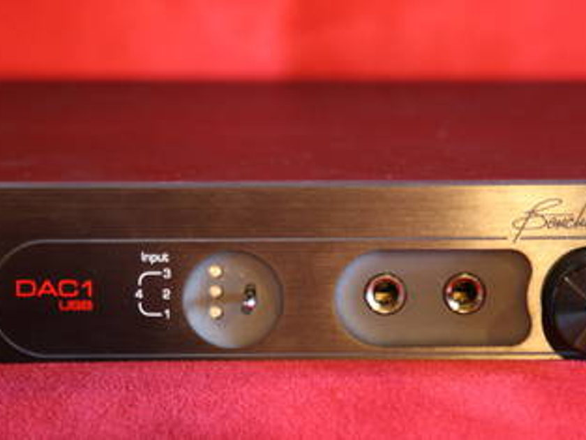 Benchmark DAC-1 24bit  D/A Converter !