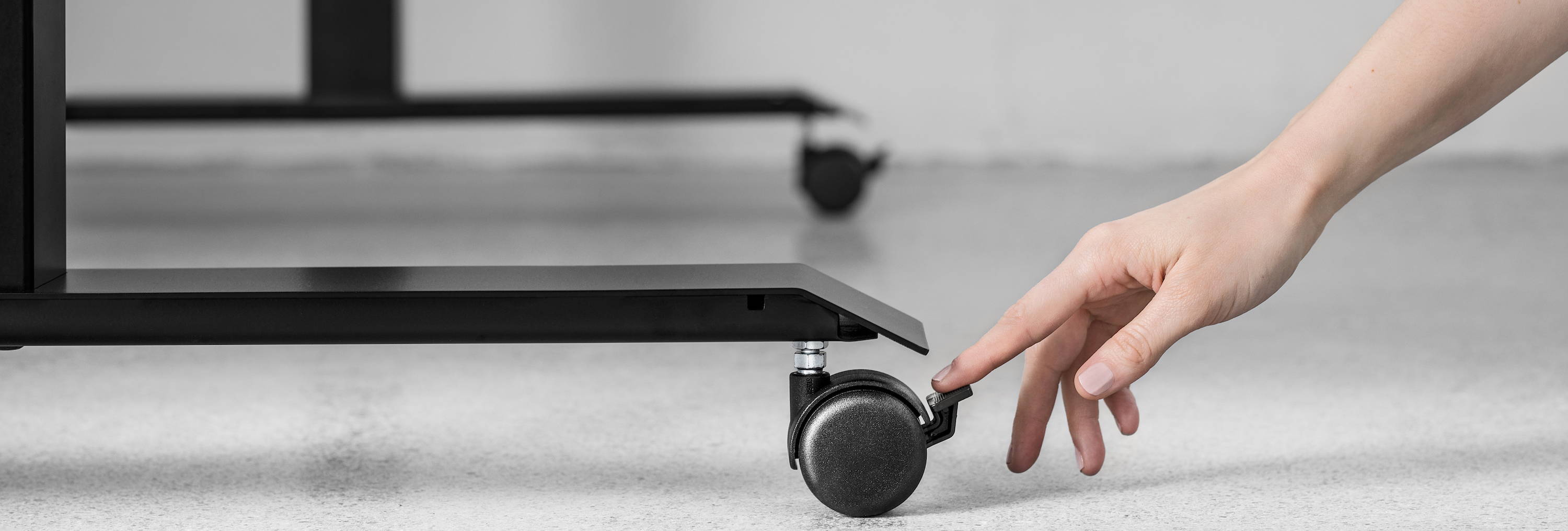 Casters - ergonofis sit-stand desk