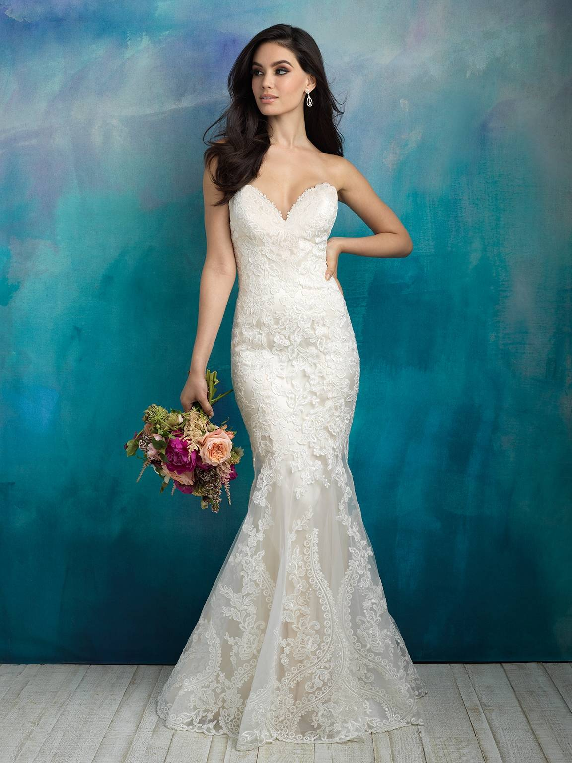 ALLURE  WEDDING DRESS 9516
