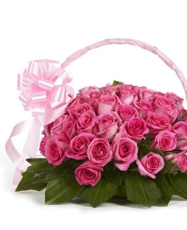 hf Scented Flowers Basket