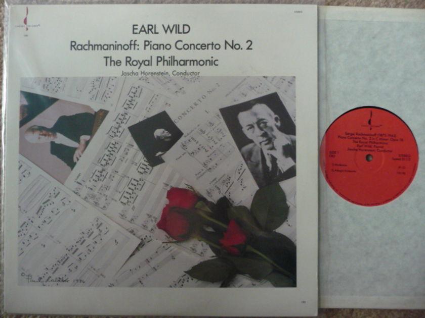 RACHMANINOFF  - PIANO CONCERTO NO 2 CHESKY LP EXCEL