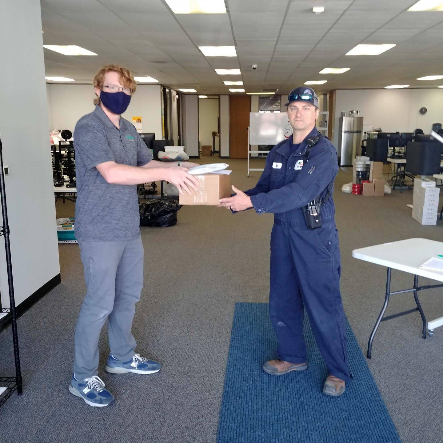 Donate PPE To First Responders