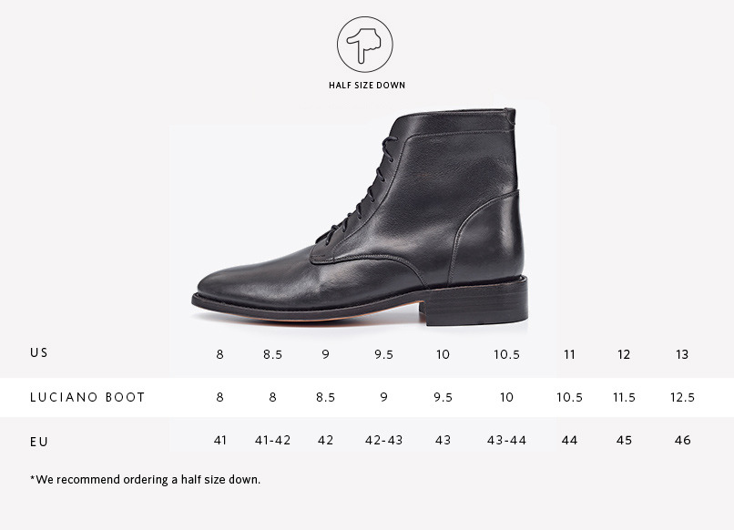 Nisolo Men's Dress Boot in black