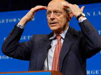 Justice Stephen Breyer: Under trust law a fiduciary is required to conduct a regular review of its investment with the nature and timing of the review contingent on the circumstances.