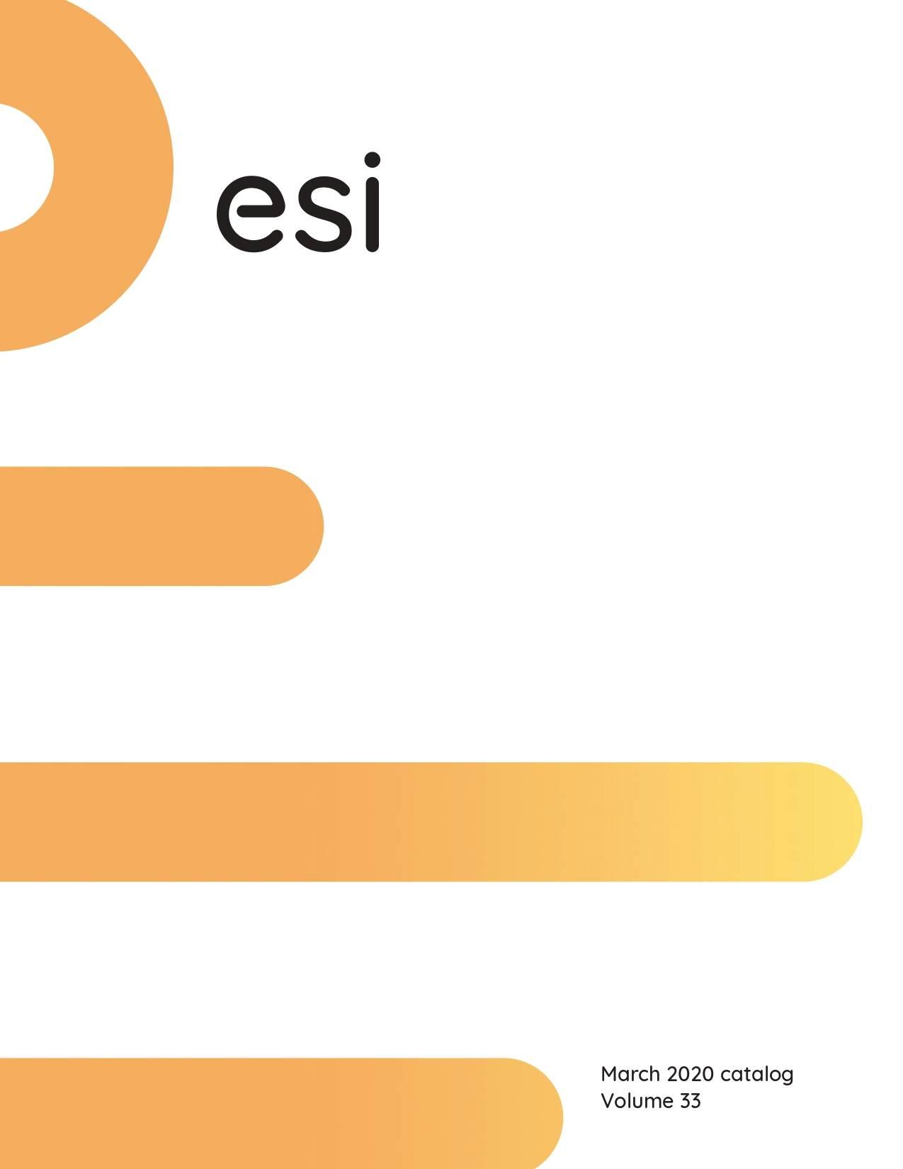 ESI Ergo 2020 Catalog