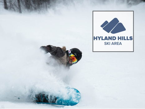 Hyland Hills Ski Area--2 one-day lift tickets