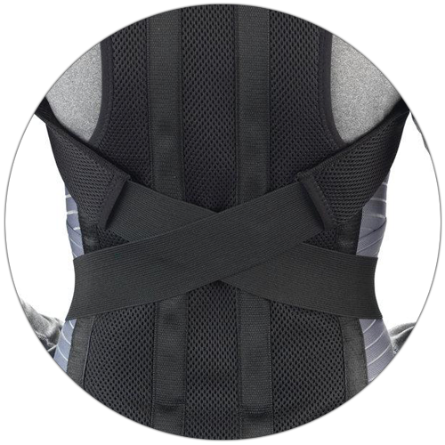 CRISS-CROSS SHOULDER STRAPS