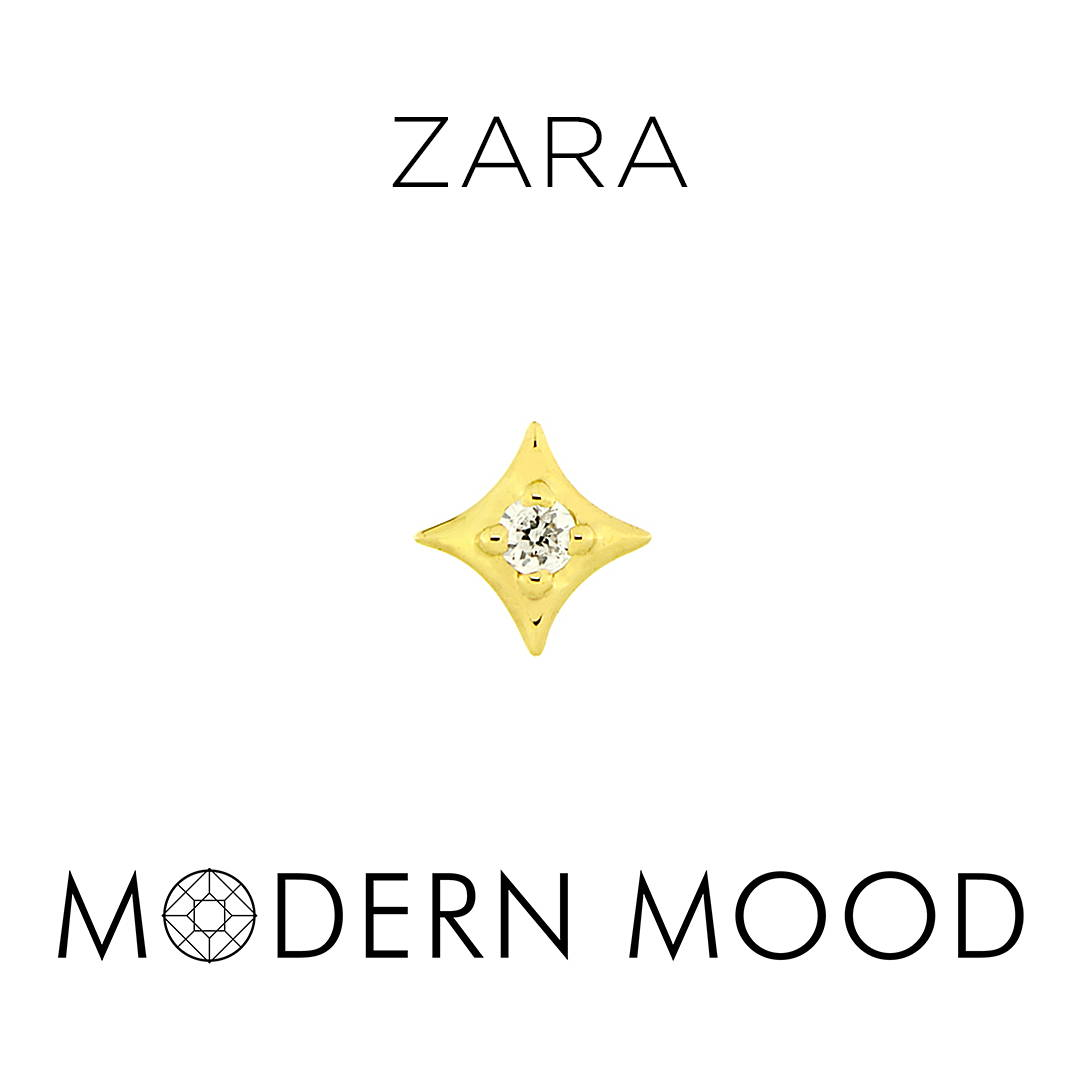 zara star diamond piercing jewelry