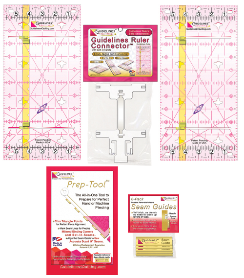 Perfect4Pattern Set with 2 Guidelines Rulers