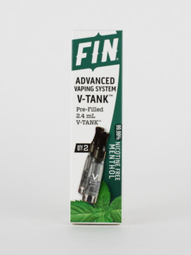 FIN AVS V-Tank Zero Menthol - 2 Pack