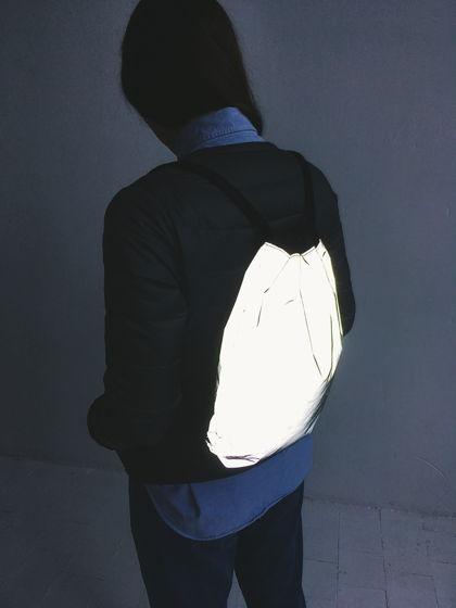 Рюкзак-мешок светоотражающий