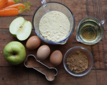 apple carrot dog treat ingredients