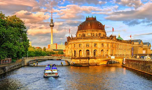 Карта Музейного острова в Берлине
