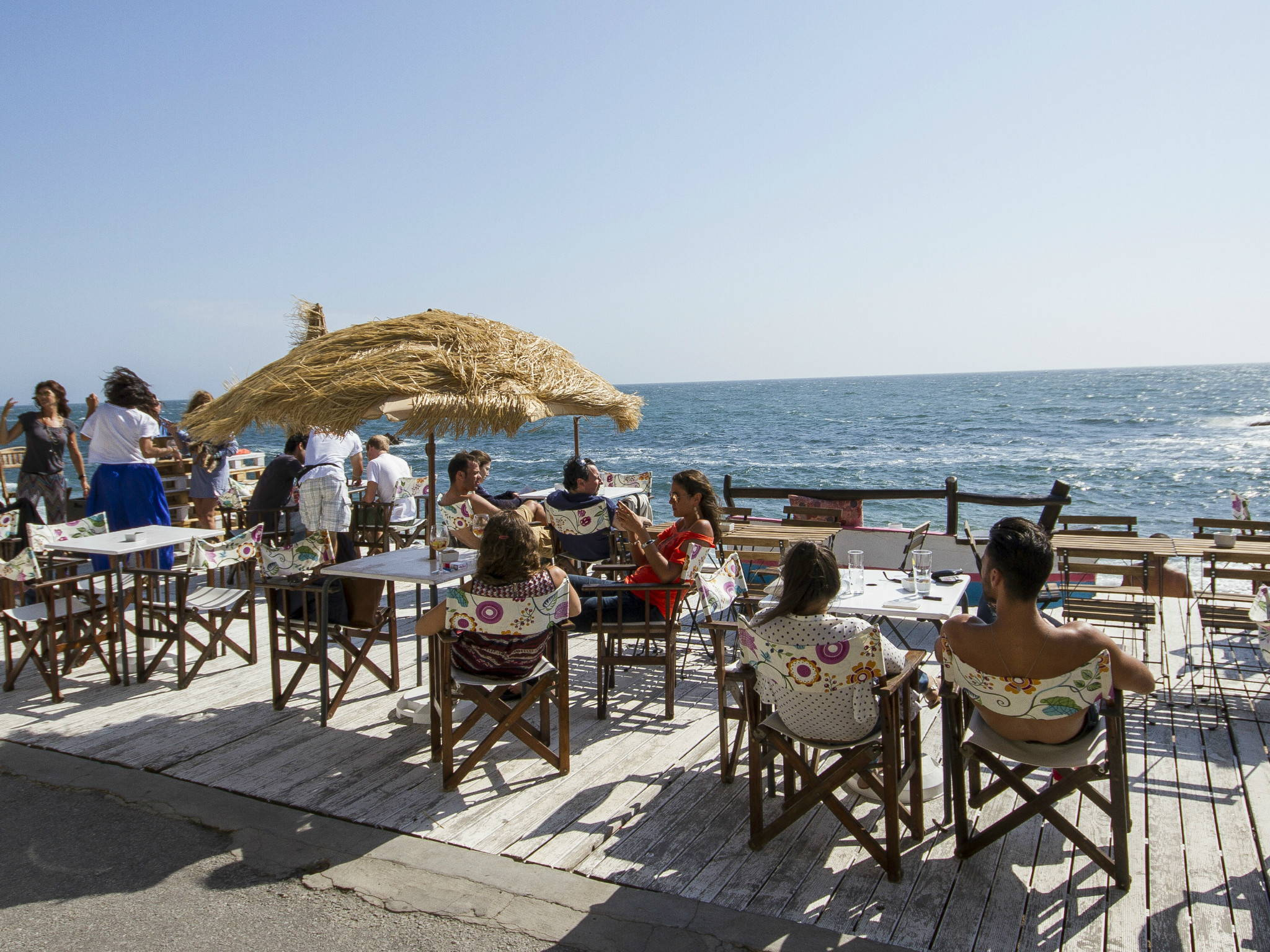 Our team picks Aguda beach as one of the places to get fresh fish and seafood in Porto.