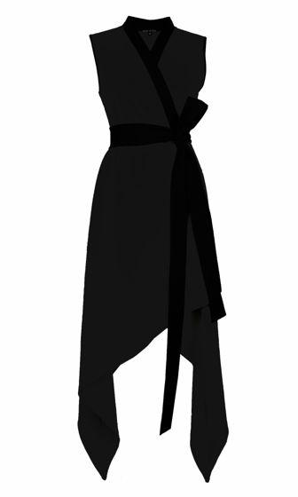"Трикотажное платье ""ZETTA"" black"