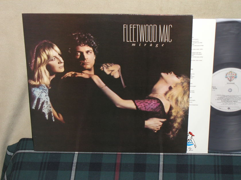 """Fleetwood Mac - Mirage   UK Import from 1982 """"Made In UK"""" printed on labels"""