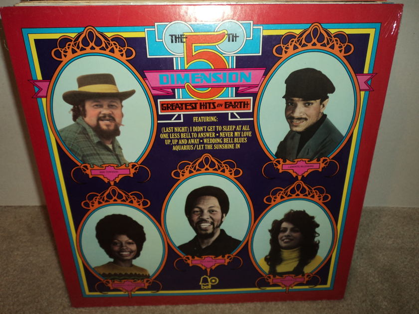 The 5th Dimension (SEALED) - Greatest Hits On Earth Brand New