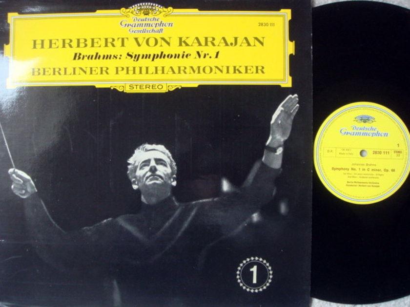DG / KARAJAN-BPO, - Brahms Symphony No.1, NM!