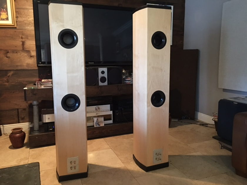 Tyler Acoustics Linbrook signature super towers Maple (REDUCED)