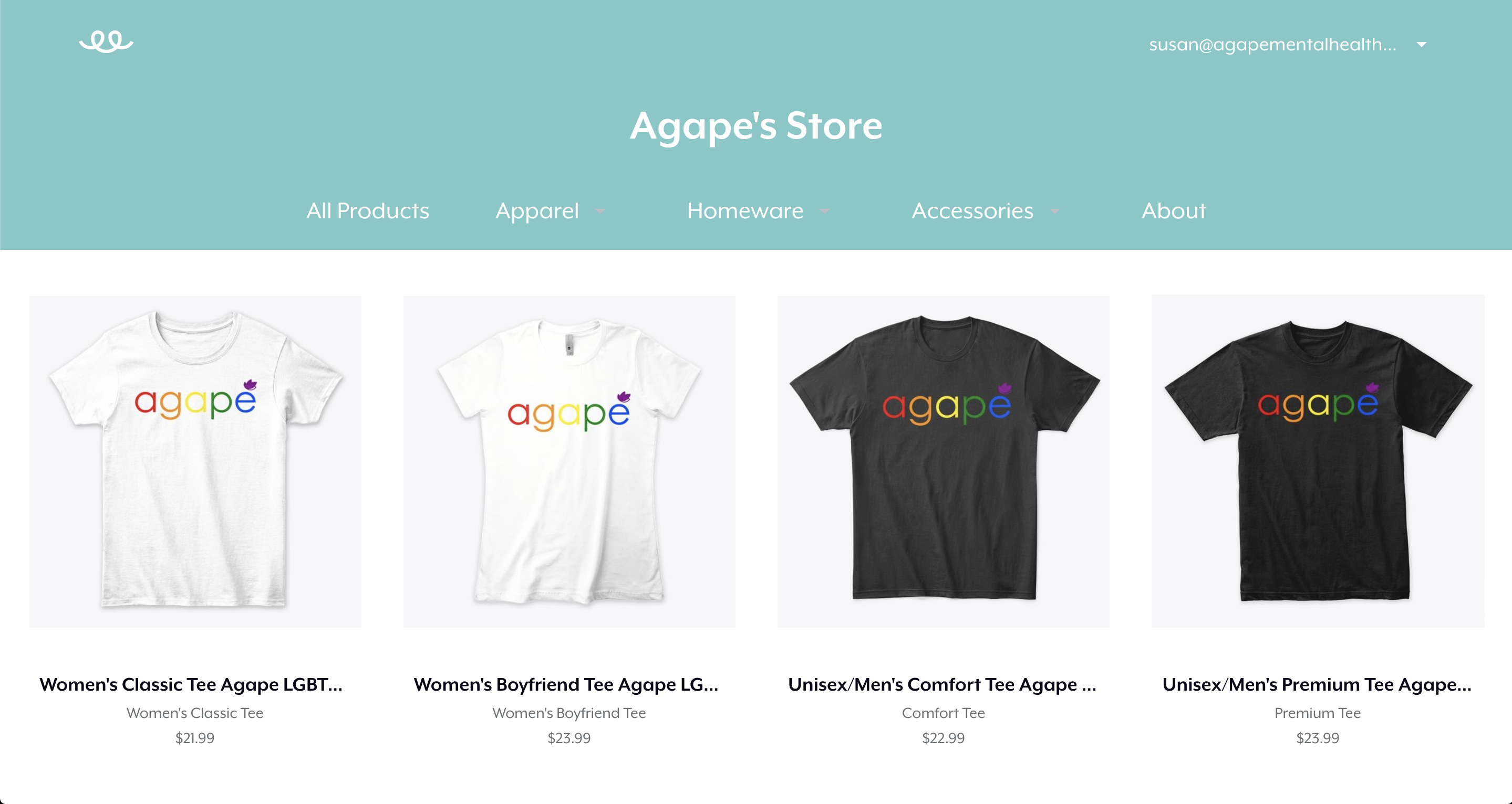 Agape Therapy Institute Store